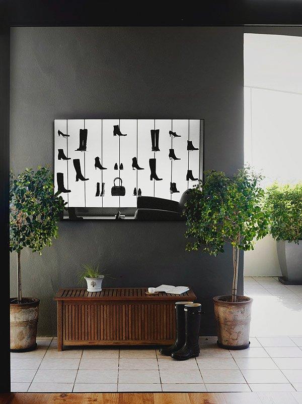 Фотография: Прихожая в стиле Прованс и Кантри, Декор интерьера, Декор, Декор дома, Современное искусство – фото на INMYROOM