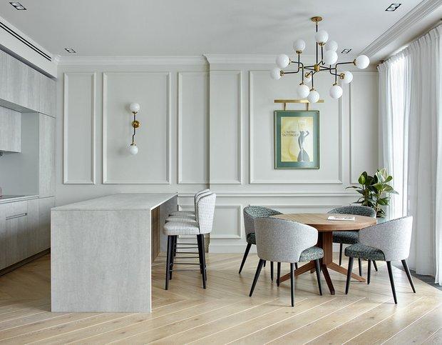 Фотография: Кухня и столовая в стиле Современный, Декор интерьера, Советы, декор стен, Анна Моджаро – фото на INMYROOM