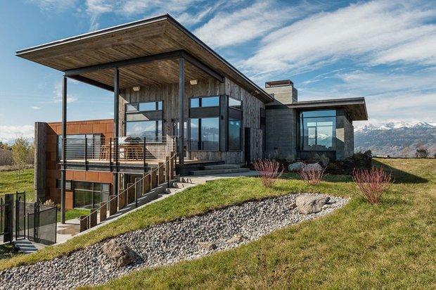 Фотография: Архитектура в стиле Современный, Дом, Дома и квартиры, Дом на природе – фото на INMYROOM