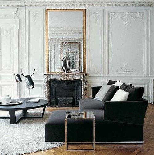 Фотография: Гостиная в стиле Эклектика, Декор интерьера, Дом, Мебель и свет – фото на INMYROOM