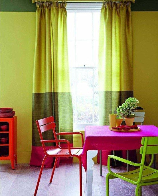 Фотография: Кухня и столовая в стиле Современный, Декор интерьера, Текстиль, Шторы – фото на INMYROOM