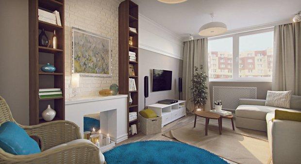 Дизайн: Guinea Interior Design