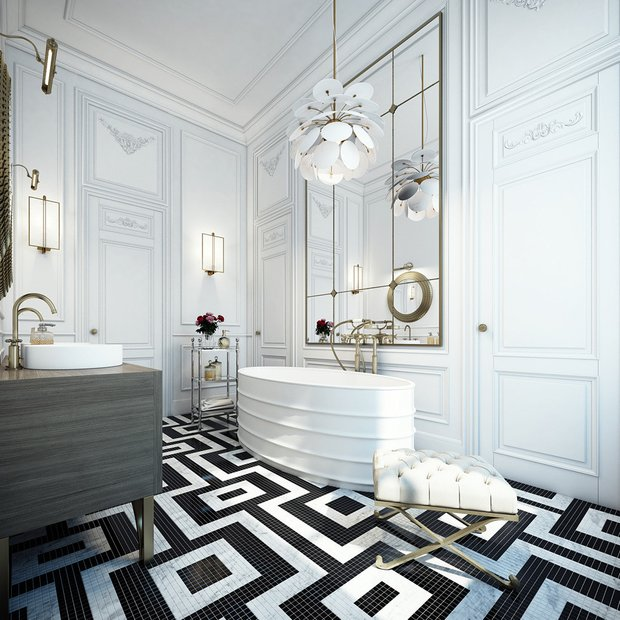 Фотография:  в стиле , Советы, Beindesign, сочетания плитки, плитка на кухне – фото на INMYROOM