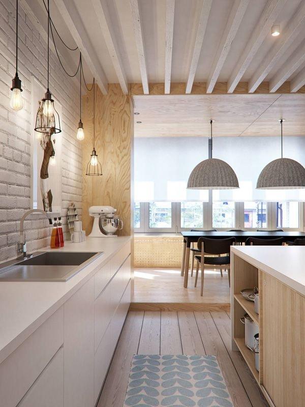 Фотография: Кухня и столовая в стиле Лофт, Скандинавский, Советы, Белый – фото на INMYROOM