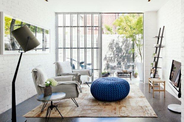 Фотография: Гостиная в стиле Лофт, Восточный, Декор интерьера, Мебель и свет – фото на INMYROOM
