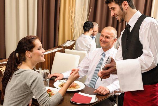 Фотография:  в стиле , Обзоры, Официанты – фото на INMYROOM