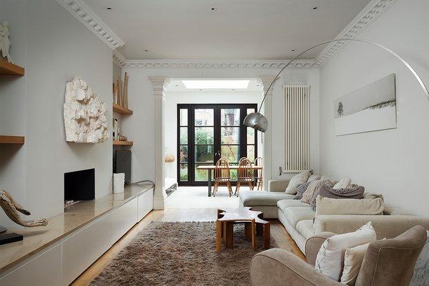 Фотография: Гостиная в стиле Современный, Декор интерьера, Дизайн интерьера, Цвет в интерьере, Советы, Белый – фото на INMYROOM
