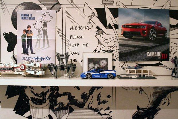 Фотография: Декор в стиле Эклектика, Детская, Интерьер комнат, Проект недели – фото на INMYROOM