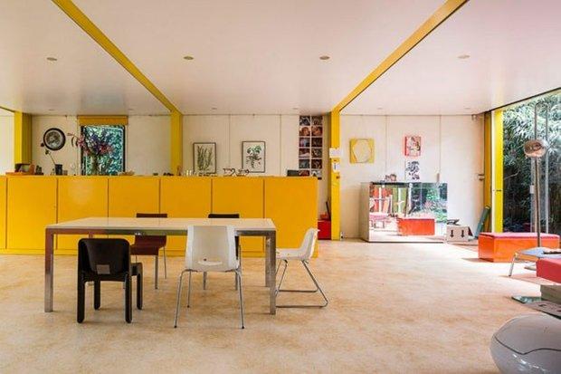 Фотография: Кухня и столовая в стиле Современный, Декор интерьера, Дизайн интерьера, Цвет в интерьере, Краска – фото на INMYROOM