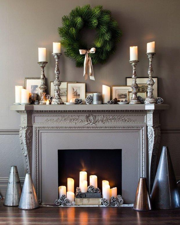 Фотография:  в стиле , Декор интерьера, Камин, фальшкамин в интерьере, как сделать декоративный камин – фото на INMYROOM