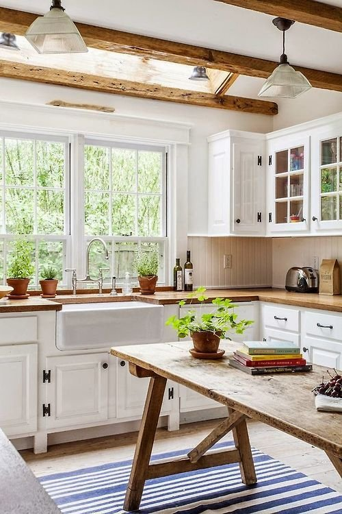 Фотография: Кухня и столовая в стиле Скандинавский, Прованс и Кантри, Интерьер комнат – фото на INMYROOM