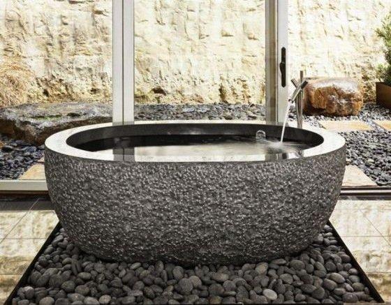 Фотография: Ванная в стиле Эко, Квартира, Дома и квартиры – фото на INMYROOM