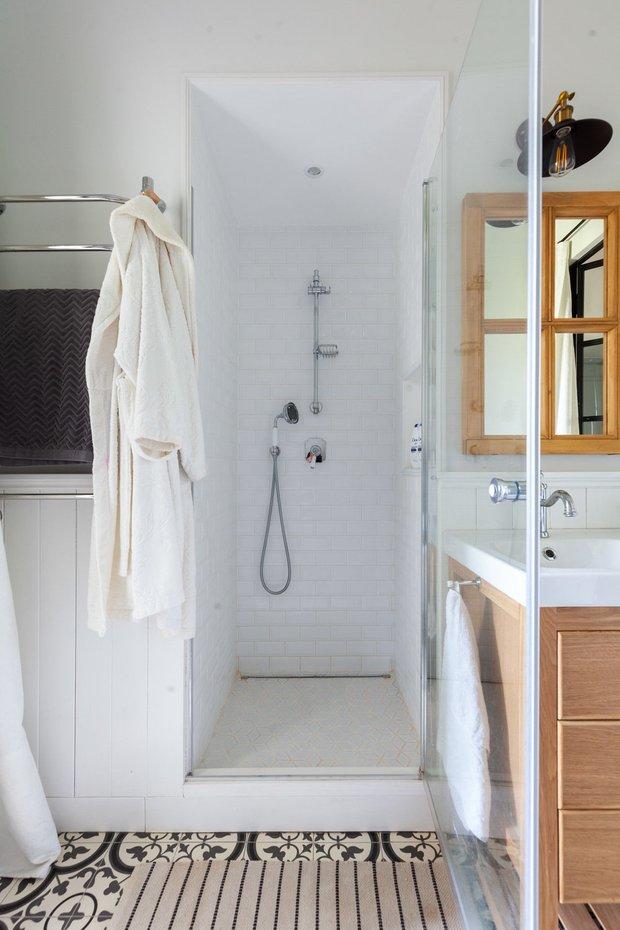 Фотография: Ванная в стиле Скандинавский, Советы, уборка ванной комнаты, Уборка, Meine Liebe, Сантехника – фото на INMYROOM