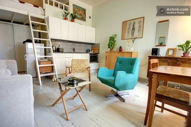 Фотография: Кухня и столовая в стиле Скандинавский, Airbnb – фото на INMYROOM