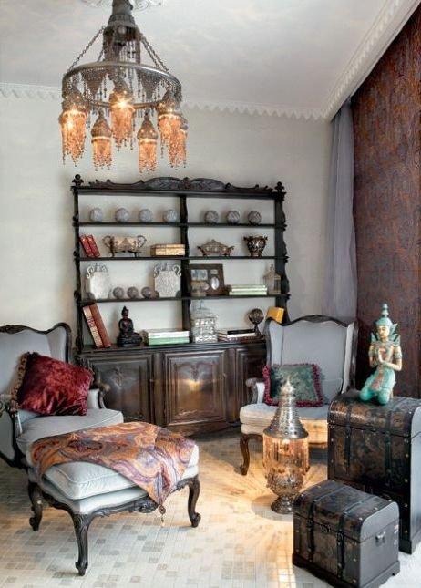 Фотография: Мебель и свет в стиле Восточный, Декор интерьера, Декор дома – фото на INMYROOM
