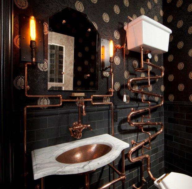 Фотография: Ванная в стиле Лофт, Декор интерьера, МЭД, Декор дома – фото на INMYROOM