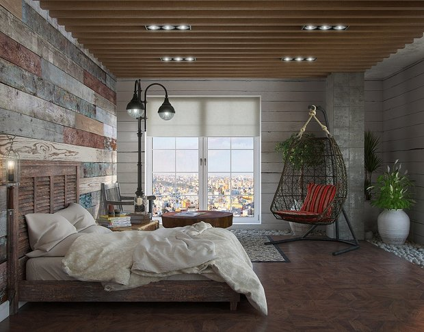 Фотография: Спальня в стиле Современный, Индустрия, События – фото на InMyRoom.ru