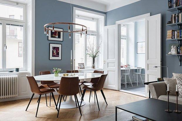 Фотография: Гостиная в стиле Скандинавский, Декор интерьера, Квартира, Швеция, 3 комнаты, 60-90 метров – фото на INMYROOM