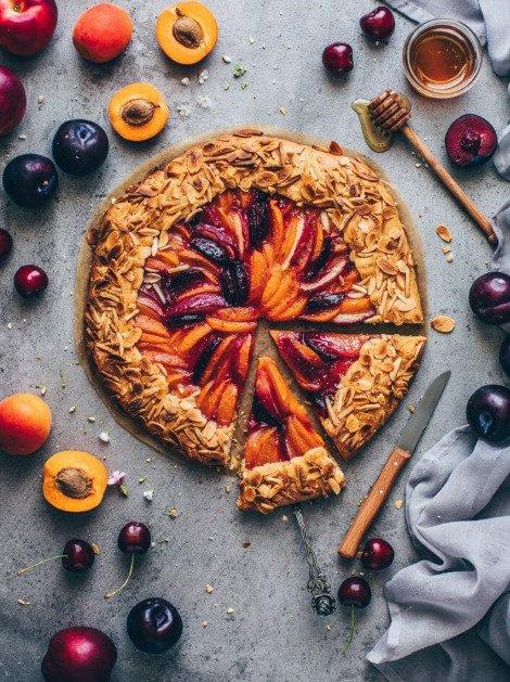 Фотография:  в стиле , Десерт, Выпекание, Кулинарные рецепты, Тесто, 1 час, Европейская кухня, Просто, Слива, Нектарин – фото на INMYROOM