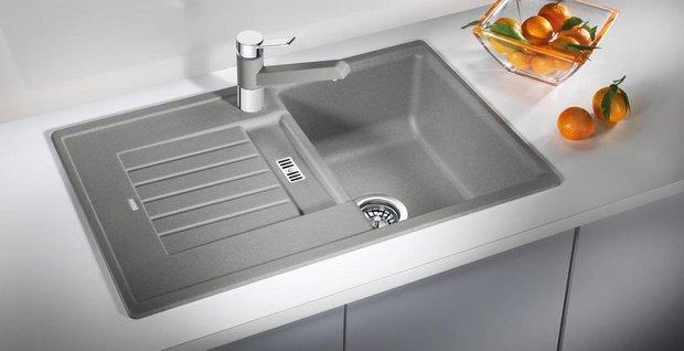 Фотография:  в стиле , Кухня и столовая, Советы, Blanco, мойка, удобная мойка, мойка для кухни, кухонная мойка, как выбрать мойку на кухню, мойка для маленькой кухни – фото на INMYROOM