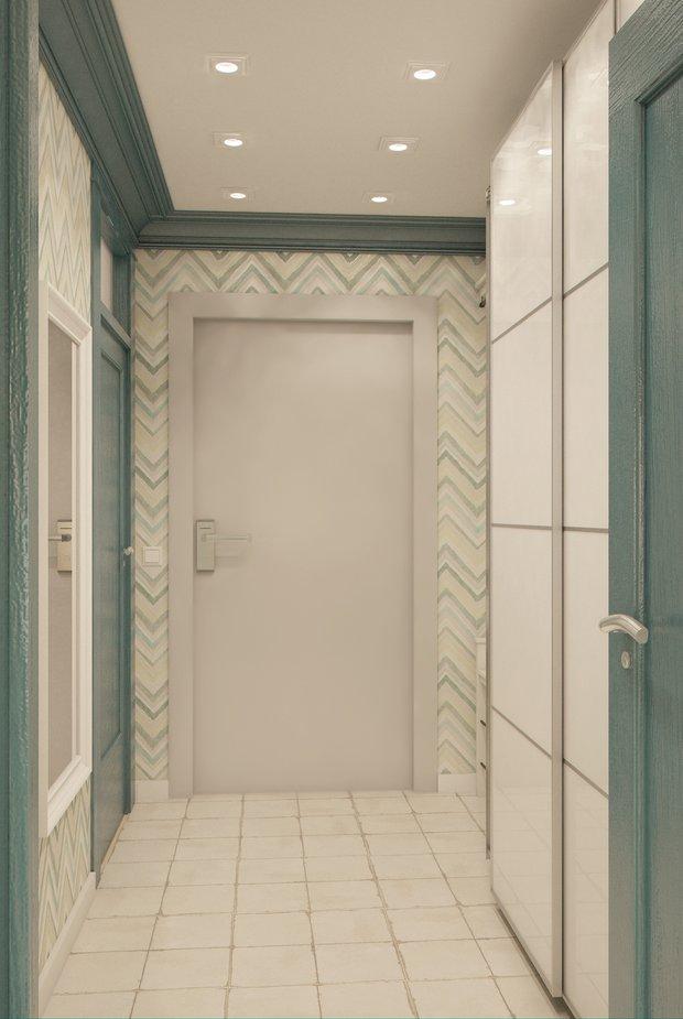 Фотография: Прихожая в стиле , Квартира, Gramercy Home, Дома и квартиры, IKEA, Проект недели – фото на INMYROOM