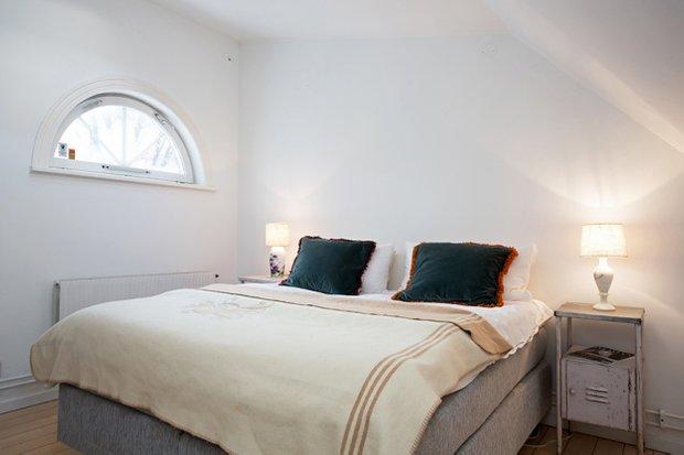 Фотография: Спальня в стиле Лофт, Скандинавский, Дом, Дома и квартиры – фото на INMYROOM