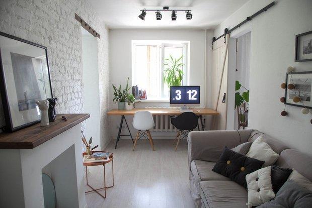 Дизайн: хозяева квартиры Марианна и Никита
