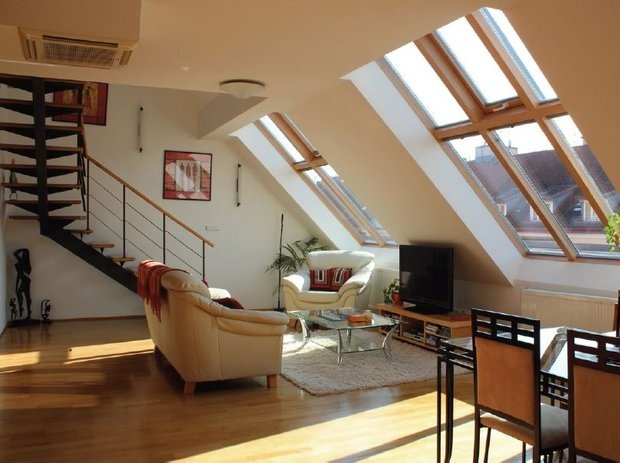 Фотография: Гостиная в стиле Лофт, Современный,  – фото на INMYROOM