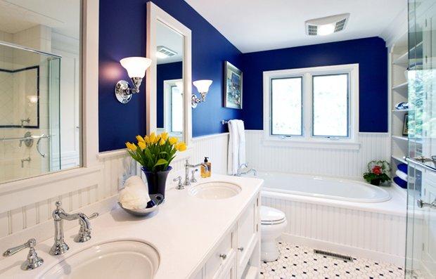 Фотография: Ванная в стиле Прованс и Кантри, Квартира, Аксессуары, Декор, Мебель и свет, Ремонт на практике, Гид – фото на INMYROOM
