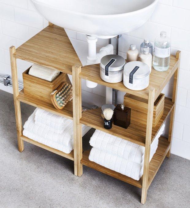 Фотография: Ванная в стиле Скандинавский, Современный, Интерьер комнат, Советы, IKEA, Зеркала – фото на INMYROOM