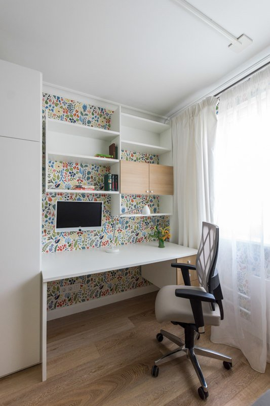 Фотография: Офис в стиле Скандинавский, Современный, Спальня, Декор интерьера, Квартира, Интерьер комнат – фото на INMYROOM