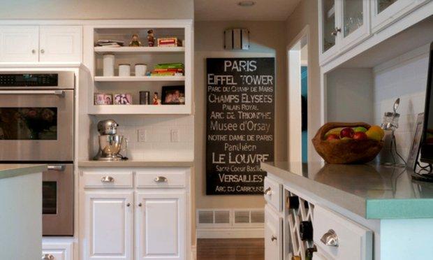 Фотография: Кухня и столовая в стиле Скандинавский, DIY, Дом, Цвет в интерьере, Дома и квартиры, Белый – фото на INMYROOM