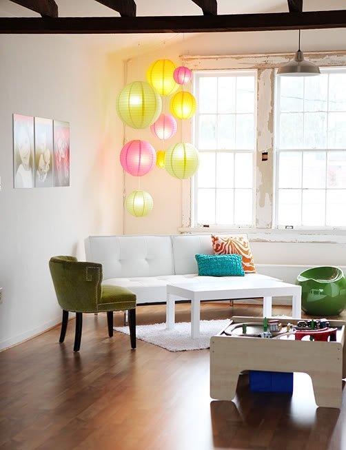 Фотография: Гостиная в стиле Лофт, Современный, Эклектика, Декор интерьера, Мебель и свет, Декор дома – фото на INMYROOM