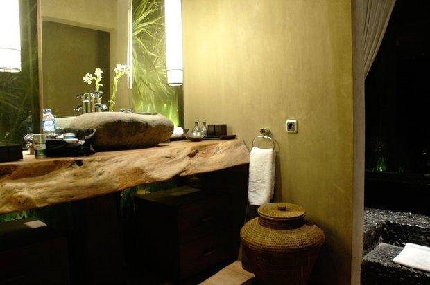 Фотография: Ванная в стиле Прованс и Кантри, Современный, Эклектика, Интерьер комнат, Teak House, Эко – фото на INMYROOM