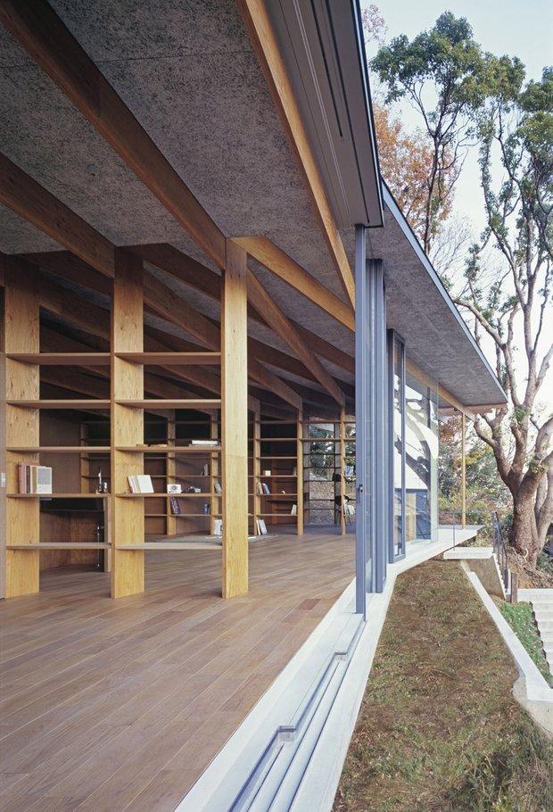 Фотография: Балкон, Терраса в стиле Современный, Дом, Дома и квартиры, Япония – фото на INMYROOM