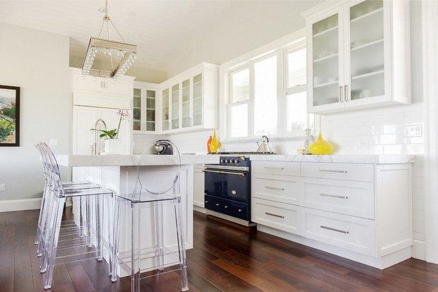 Фотография: Кухня и столовая в стиле Современный, Эклектика, Интерьер комнат – фото на INMYROOM
