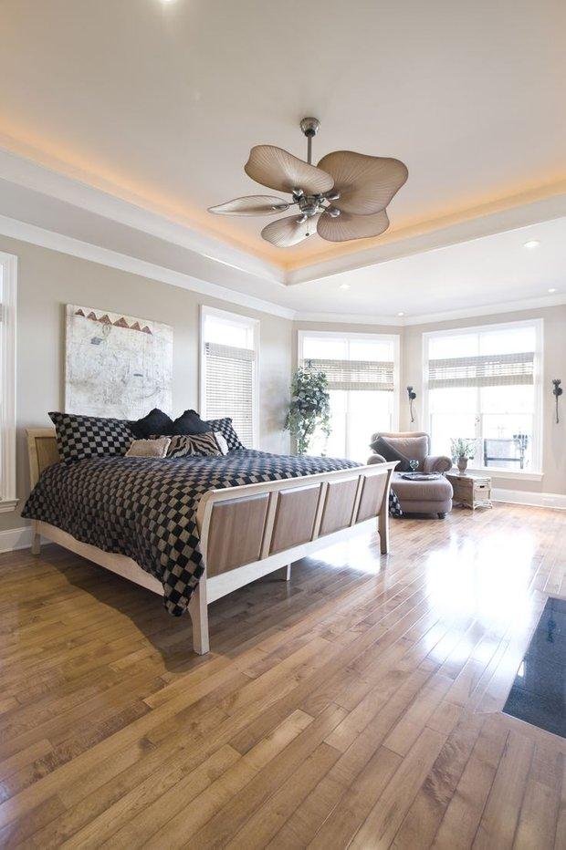 Фотография: Спальня в стиле Современный, Советы, Ремонт, Потолок, Ремонт на практике – фото на INMYROOM