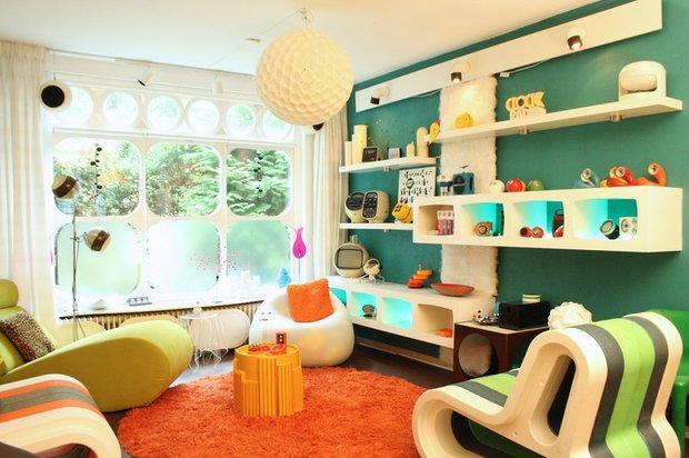 Фотография: Детская в стиле Современный, Декор интерьера, Дом, Мебель и свет, Футуризм – фото на INMYROOM