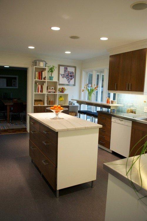 Фотография: Кухня и столовая в стиле Современный, Классический, Декор интерьера, Квартира, Хранение, Декор, Переделка – фото на INMYROOM
