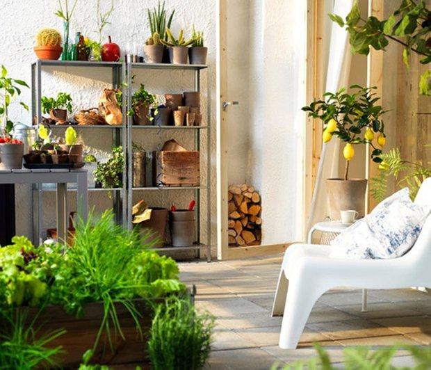 Фотография:  в стиле Современный, Балкон, Интерьер комнат, специальная тема: балконы – фото на INMYROOM