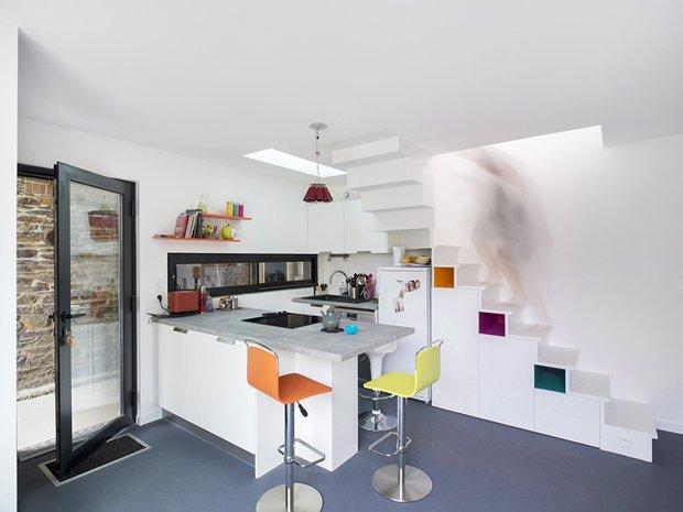 Фотография: Кухня и столовая в стиле Скандинавский, Дом, Дома и квартиры – фото на INMYROOM