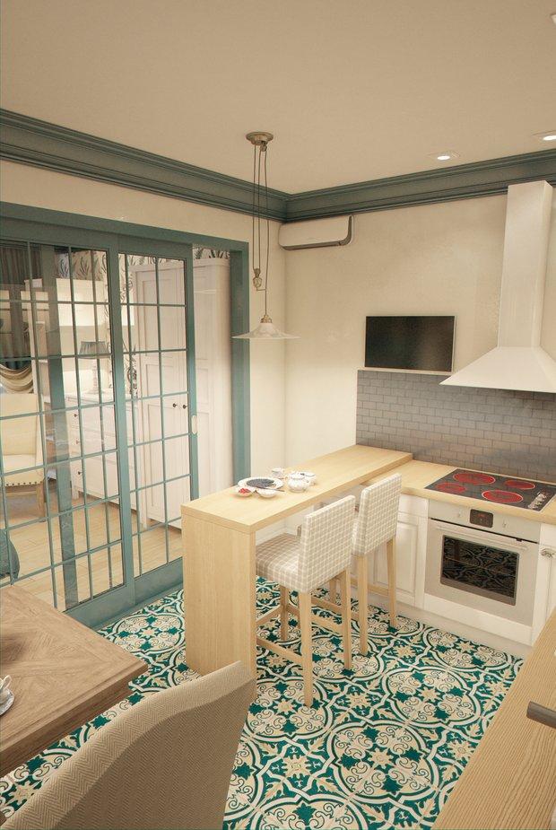Фотография: Кухня и столовая в стиле Прованс и Кантри, Квартира, Gramercy Home, Дома и квартиры, IKEA, Проект недели – фото на INMYROOM