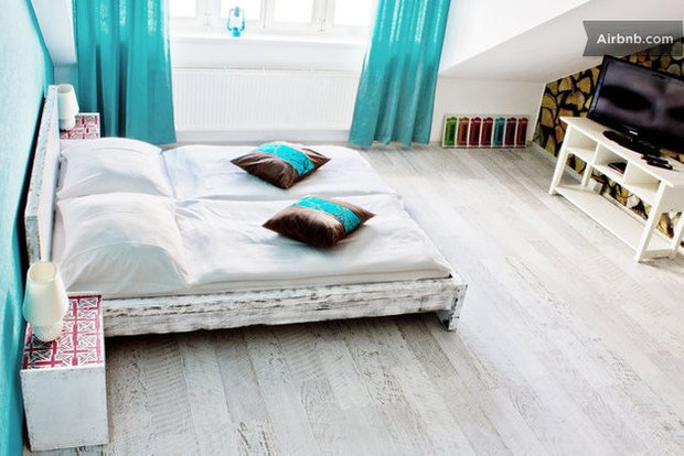 Фотография: Спальня в стиле Скандинавский, Airbnb – фото на INMYROOM