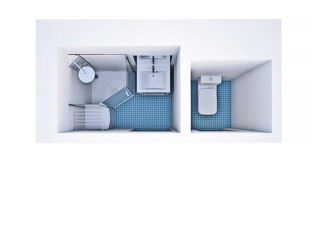 Фотография: Прочее в стиле , Ванная, Квартира, Дома и квартиры, Ванна, П-55, II-68, II -46 – фото на INMYROOM