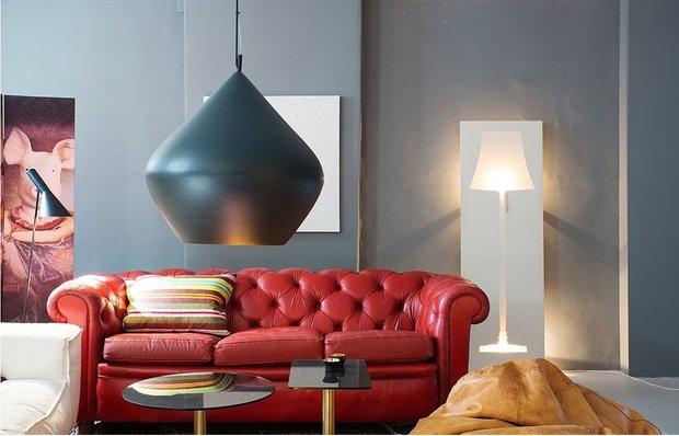 Фотография: Гостиная в стиле Современный, Скандинавский, Малогабаритная квартира, Квартира, Швеция, Цвет в интерьере, Дома и квартиры, Белый – фото на INMYROOM