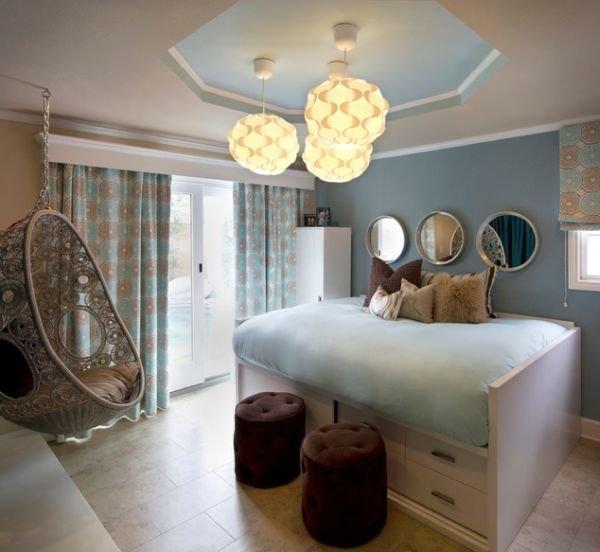 Фотография: Спальня в стиле Современный, Декор интерьера, Квартира, Дом, Мебель и свет – фото на InMyRoom.ru