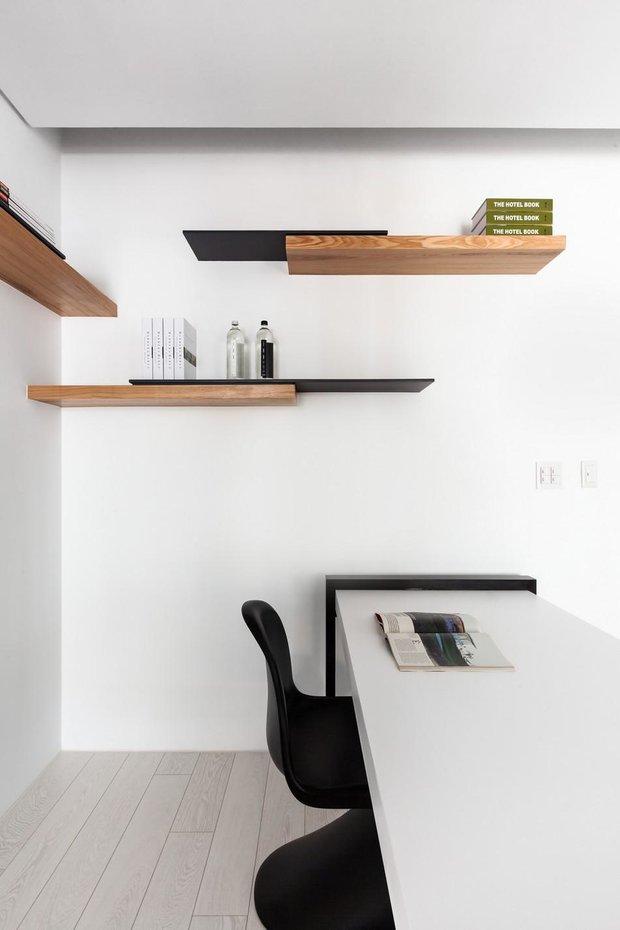 Фотография: Офис в стиле Современный, Малогабаритная квартира, Квартира, Дома и квартиры – фото на INMYROOM