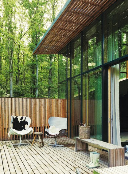 Фотография: Терраса в стиле Скандинавский, Дом, Дома и квартиры – фото на INMYROOM