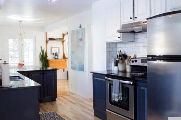 Фотография: Кухня и столовая в стиле Лофт, Современный, DIY, Дом, Дома и квартиры, Камин – фото на INMYROOM