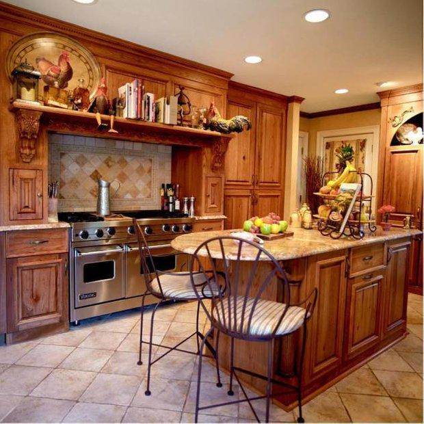 Фотография: Кухня и столовая в стиле , Прованс и Кантри, Интерьер комнат, Интерьерная Лавка – фото на InMyRoom.ru